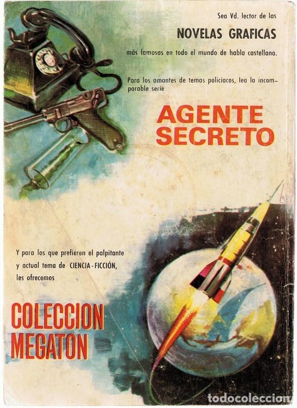 Tebeos: AGENTE SECRETO UN FUNERAL PARA LOS CONSPIRADORES AÑO 1966 - Foto 3 - 182306713
