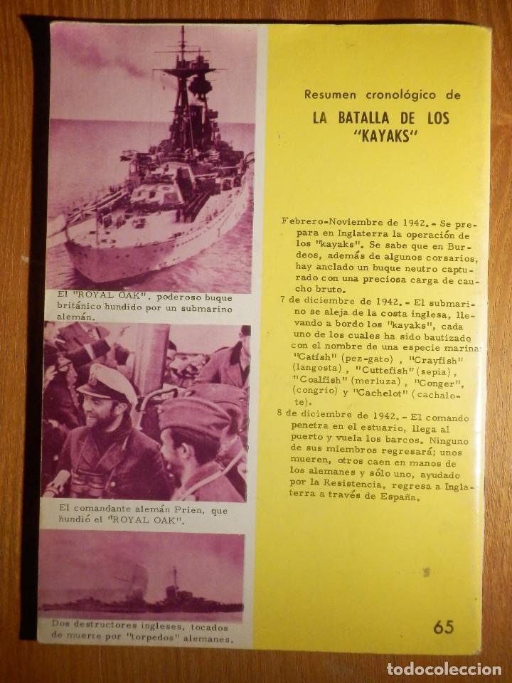 Tebeos: Comic - Grandes batallas - Nº 65 - La Batalla de Kayaks - Los Temerarios - Ferma 1965 - Foto 2 - 182681101
