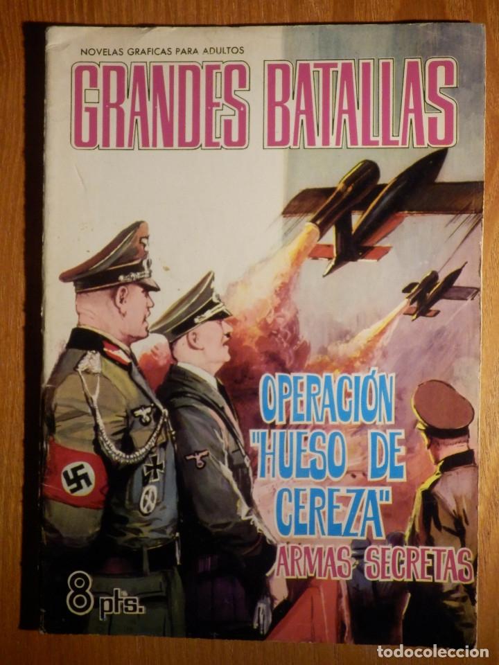COMIC - GRANDES BATALLAS - Nº 63 - OPERACIÓN HUESO DE CEREZA - ARMAS SECRETAS - FERMA 1965 (Tebeos y Comics - Ferma - Otros)