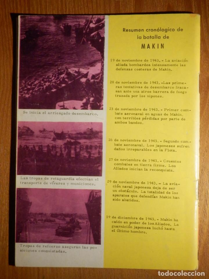 Tebeos: Comic - Grandes batallas - Nº 78 - Makin - Las Murallas del Terror - Ferma 1965 - Foto 2 - 182682247