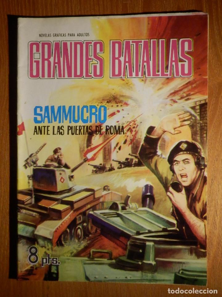 COMIC - GRANDES BATALLAS - Nº 68 - SAMMUCRO - ANTE LAS PUERTAS DE ROMA - FERMA 1965 (Tebeos y Comics - Ferma - Otros)