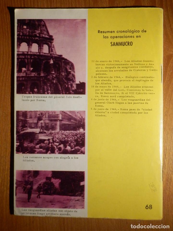 Tebeos: Comic - Grandes batallas - Nº 68 - Sammucro - Ante las puertas de Roma - Ferma 1965 - Foto 2 - 182682818