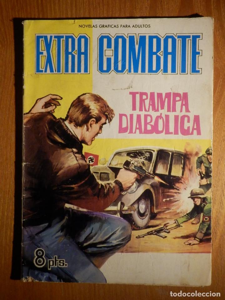 COMIC - EXTRA COMBATE - Nº 14 - TRAMPA DIABÓLICA - FERMA 1965 (Tebeos y Comics - Ferma - Combate)