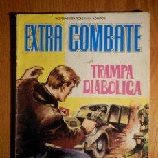 Tebeos: COMIC - EXTRA COMBATE - Nº 14 - TRAMPA DIABÓLICA - FERMA 1965. Lote 182683646