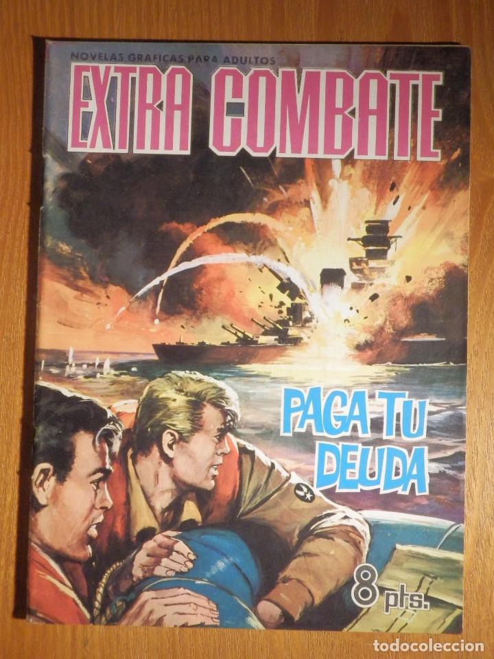 COMIC - EXTRA COMBATE - Nº 64 - PAGA TU DEUDA - FERMA 1965 (Tebeos y Comics - Ferma - Combate)