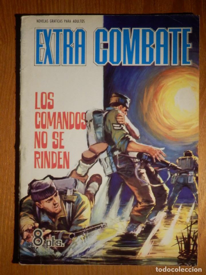 COMIC - EXTRA COMBATE - Nº 32 - LOS COMANDOS NO SE RINDEN - FERMA 1965 (Tebeos y Comics - Ferma - Combate)
