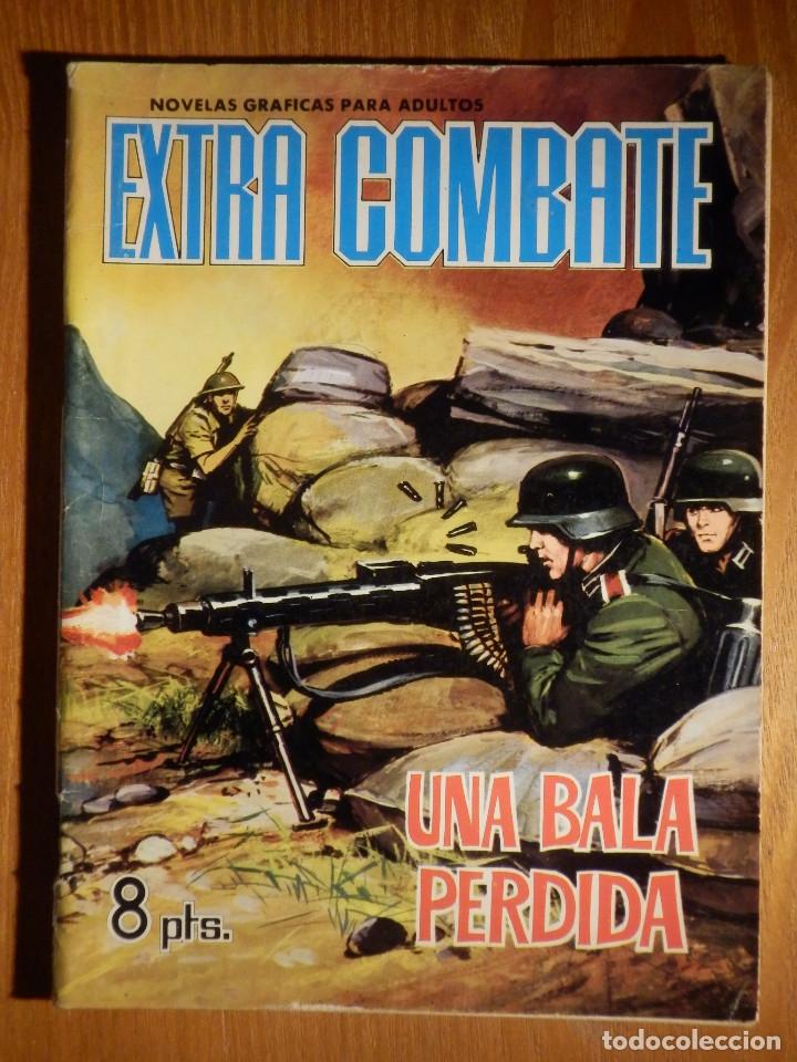 COMIC - EXTRA COMBATE - Nº 59 - UNA BALA PERDIDA - FERMA 1965 (Tebeos y Comics - Ferma - Combate)