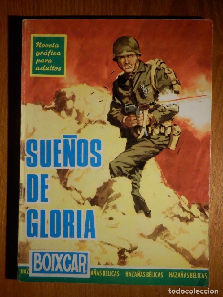 COMIC - SUEÑOS DE GLORIA - BOIXCAR - HAZAÑAS BÉLICAS - Nº 15 - TORAY - 1966 (Tebeos y Comics - Ferma - Combate)
