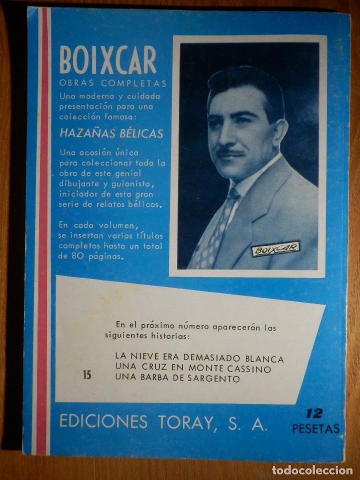Tebeos: Comic - Sueños de Gloria - Boixcar - Hazañas Bélicas - nº 15 - Toray - 1966 - Foto 2 - 182688058
