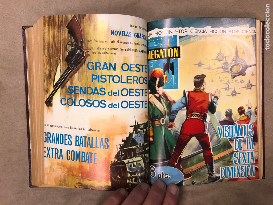 Tebeos: LOTE DE 6 NÚMEROS DE MEGATON (FERMA) + 3 DE ROBOT 76 ENCUADERNADOS. XD AÑO 1966/67. - Foto 11 - 182782393