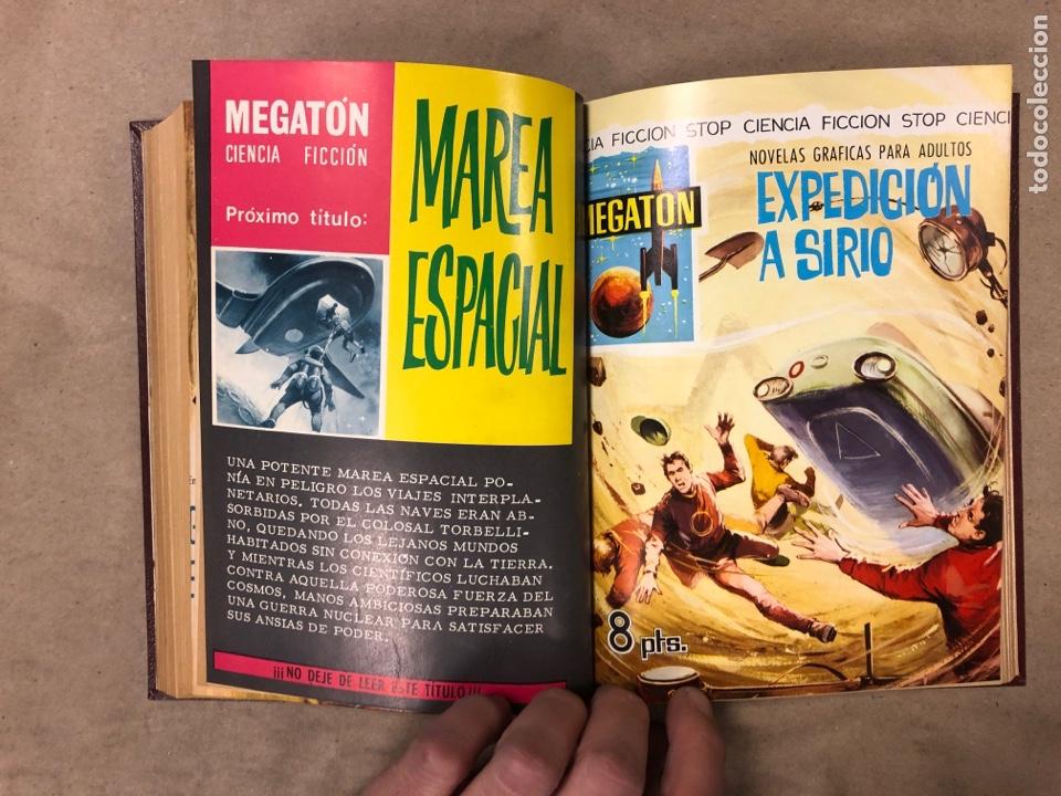 Tebeos: LOTE DE 6 NÚMEROS DE MEGATON (FERMA) + 3 DE ROBOT 76 ENCUADERNADOS. XD AÑO 1966/67. - Foto 13 - 182782393
