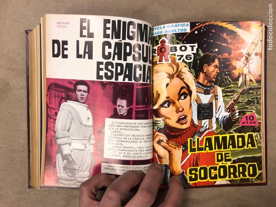 Tebeos: LOTE DE 6 NÚMEROS DE MEGATON (FERMA) + 3 DE ROBOT 76 ENCUADERNADOS. XD AÑO 1966/67. - Foto 17 - 182782393
