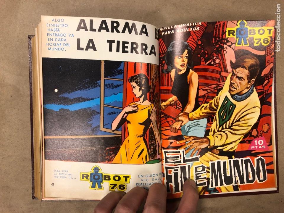 Tebeos: LOTE DE 6 NÚMEROS DE MEGATON (FERMA) + 3 DE ROBOT 76 ENCUADERNADOS. XD AÑO 1966/67. - Foto 19 - 182782393