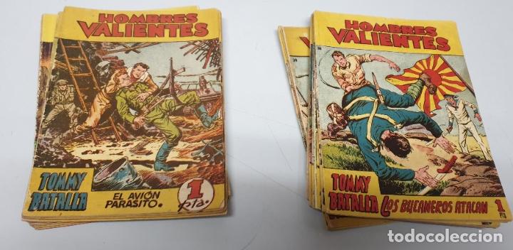 TOMMY BATALLA / HOMBRES VALIENTES / LOTE DE 29 NUMEROS / FERMA 1958 (Tebeos y Comics - Ferma - Aventuras Ilustradas)