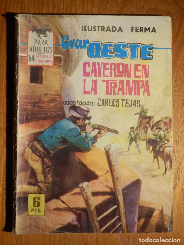 COMIC - GRAN OESTE - CAYERON EN LA TRAMPA - FERMA - CARLOS TEJAS (Tebeos y Comics - Ferma - Gran Oeste)