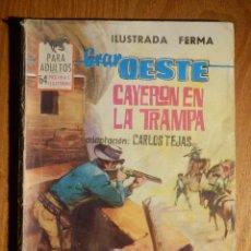 Tebeos: COMIC - GRAN OESTE - CAYERON EN LA TRAMPA - FERMA - CARLOS TEJAS. Lote 182903687