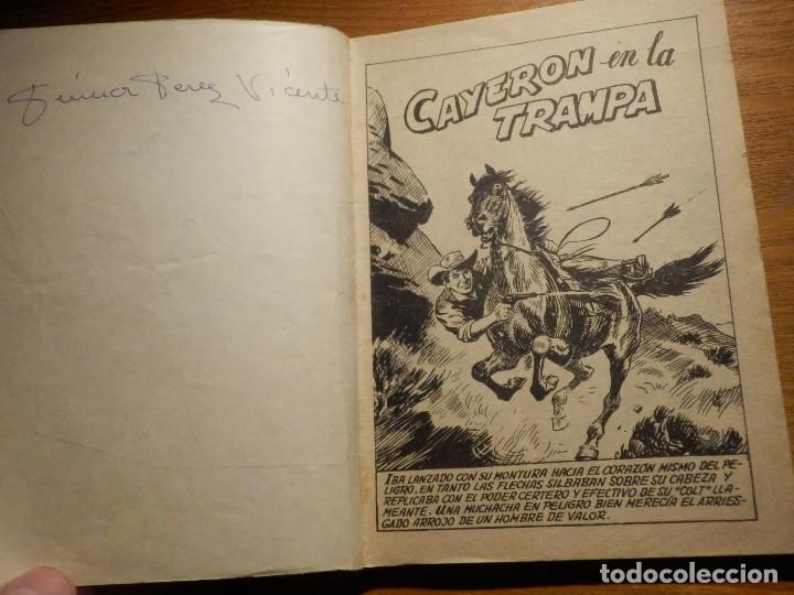 Tebeos: Comic - Gran Oeste - Cayeron en la trampa - Ferma - Carlos Tejas - Foto 2 - 182903687