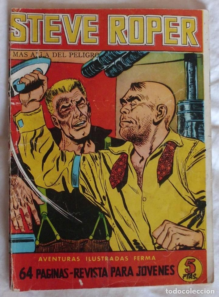 STEVE ROPER Nº 7 EXCLUSIVAS FERMA (Tebeos y Comics - Ferma - Aventuras Ilustradas)