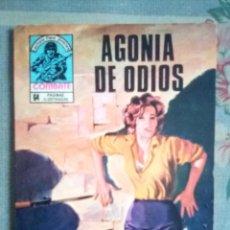 Tebeos: COMBATE- NOVELA GRÁFICA SEMANAL- Nº 165 -AGONÍA DE ODIOS-MUY DIFÍCIL-BUENO-1979-LEAN-2409. Lote 183958560