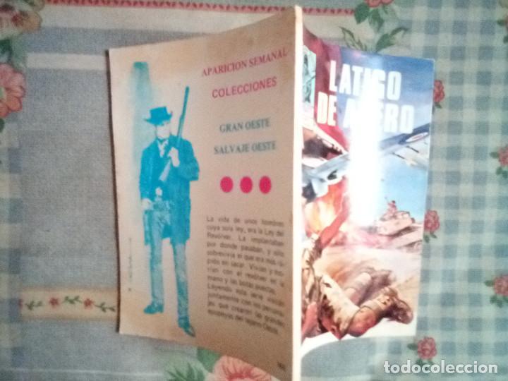 Tebeos: COMBATE- NOVELA GRÁFICA- Nº 166 -LÁTIGO DE ACERO- BUEN ESTADO-1979-GRAN ALDOMÁ PUIG-LEAN-2410 - Foto 3 - 183959502