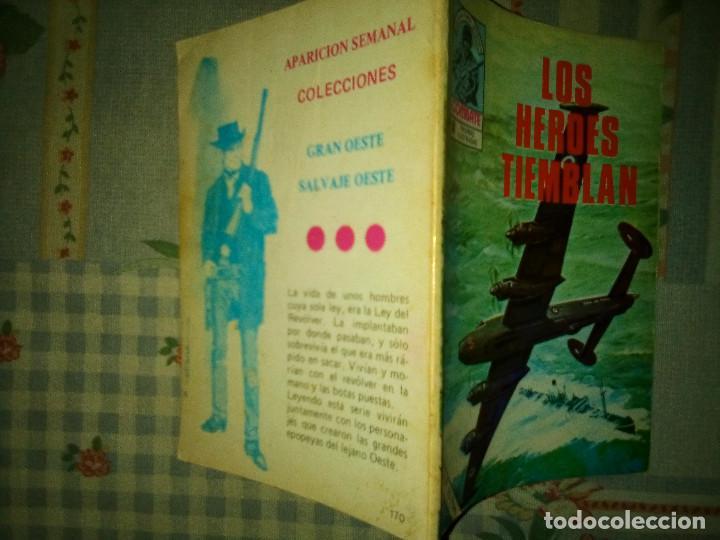 Tebeos: COMBATE- NOVELA GRÁFICA SEMANAL- Nº 170 -LOS HÉROES TIEMBLAN-AURALEÓN-DIFÍCIL-BUENO-1979-LEAN-4431 - Foto 2 - 248490165