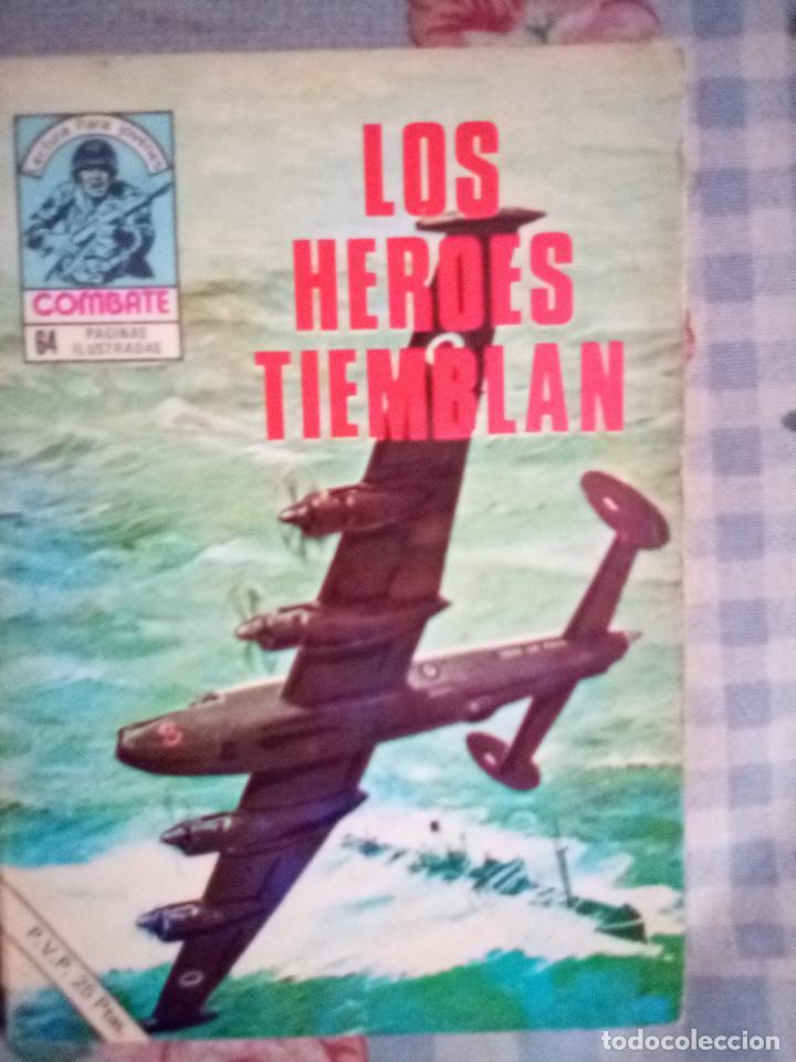 COMBATE- NOVELA GRÁFICA SEMANAL- Nº 170 -LOS HÉROES TIEMBLAN-AURALEÓN-DIFÍCIL-BUENO-1979-LEAN-4431 (Tebeos y Comics - Ferma - Combate)