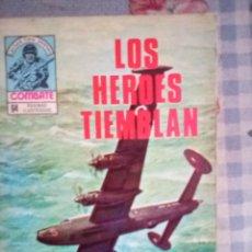 Tebeos: COMBATE- NOVELA GRÁFICA SEMANAL- Nº 170 -LOS HÉROES TIEMBLAN-AURALEÓN-DIFÍCIL-BUENO-1979-LEAN-4431. Lote 248490165