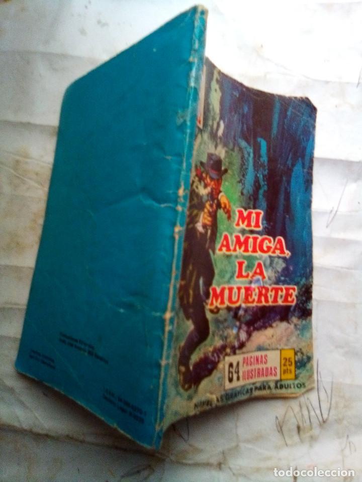Tebeos: CAMINOS DEL OESTE- Nº 119 -1976-MI AMIGA,LA MUERTE-GRAN RAFAEL MÉNDEZ-REGULAR-DIFICIL-LEA-2408 - Foto 2 - 184043437