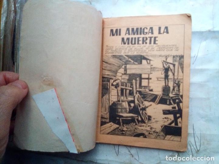 Tebeos: CAMINOS DEL OESTE- Nº 119 -1976-MI AMIGA,LA MUERTE-GRAN RAFAEL MÉNDEZ-REGULAR-DIFICIL-LEA-2408 - Foto 3 - 184043437