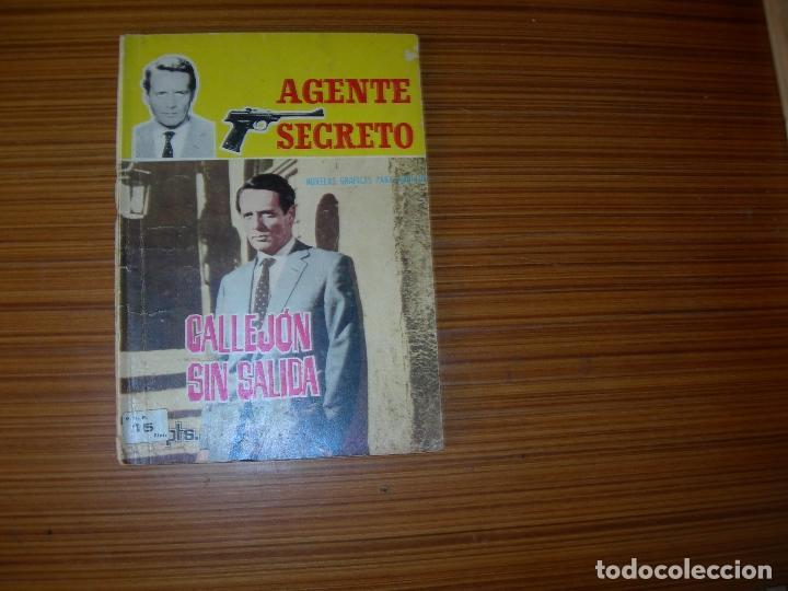 AGENTE SECRETO Nº 8 EDITA FERMA (Tebeos y Comics - Ferma - Agente Secreto)