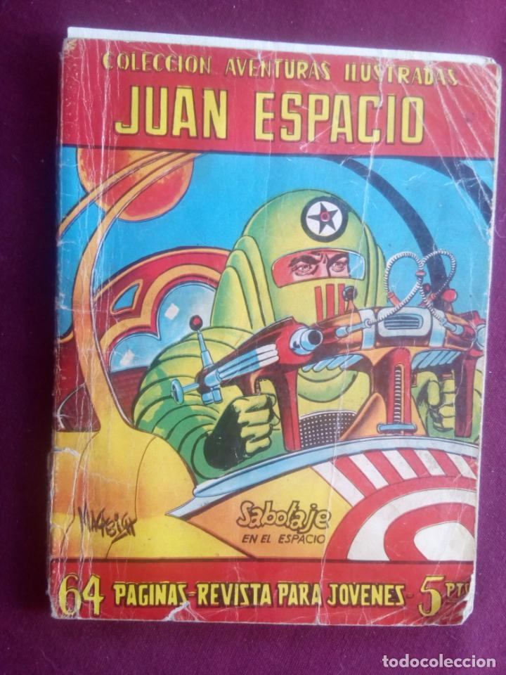 JUAN ESPACIO (Tebeos y Comics - Ferma - Aventuras Ilustradas)