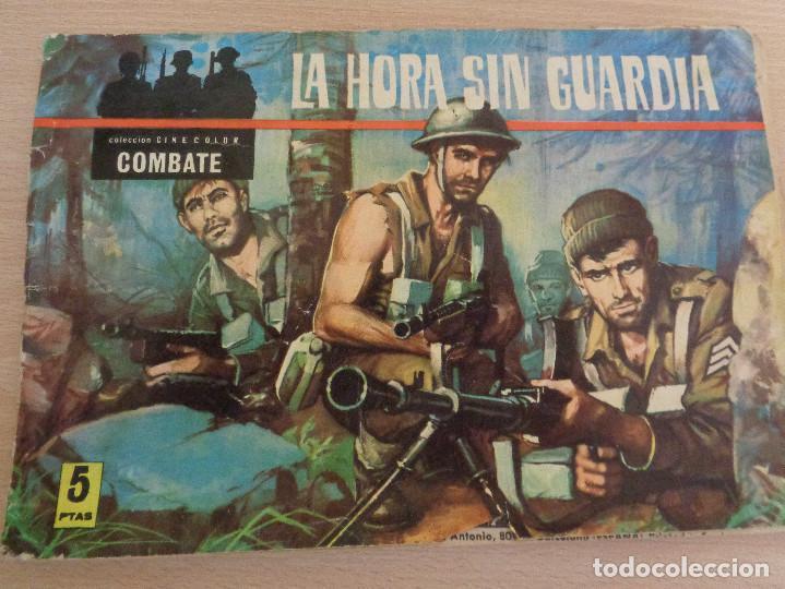 COLECCIÓN CINECOLOR COMBATE NÚM. 13. LA HORA SIN GUARDIA. EDITA FERMA (Tebeos y Comics - Ferma - Combate)
