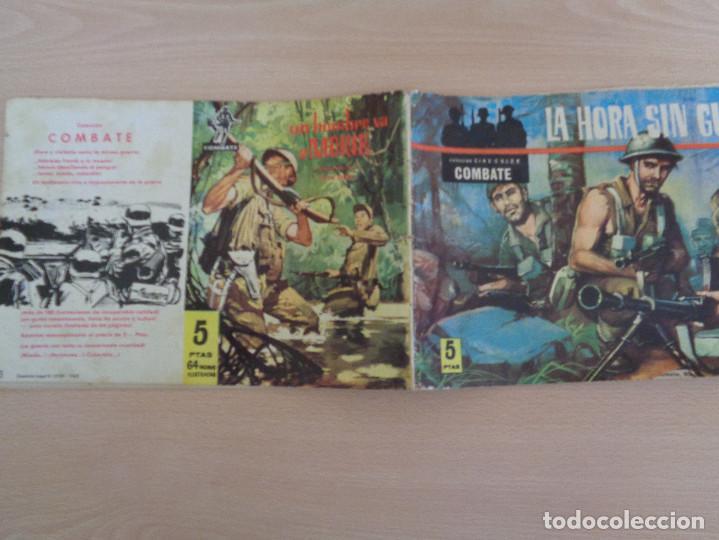 Tebeos: Colección Cinecolor Combate núm. 13. La hora sin guardia. Edita Ferma - Foto 2 - 188593471