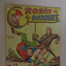 Livros de Banda Desenhada: ROBIN DE LOS BOSQUES NÚM. 58. EL VENCEDOR. ORIGINAL. EDITA FERMA. GASTADO. Lote 188679521