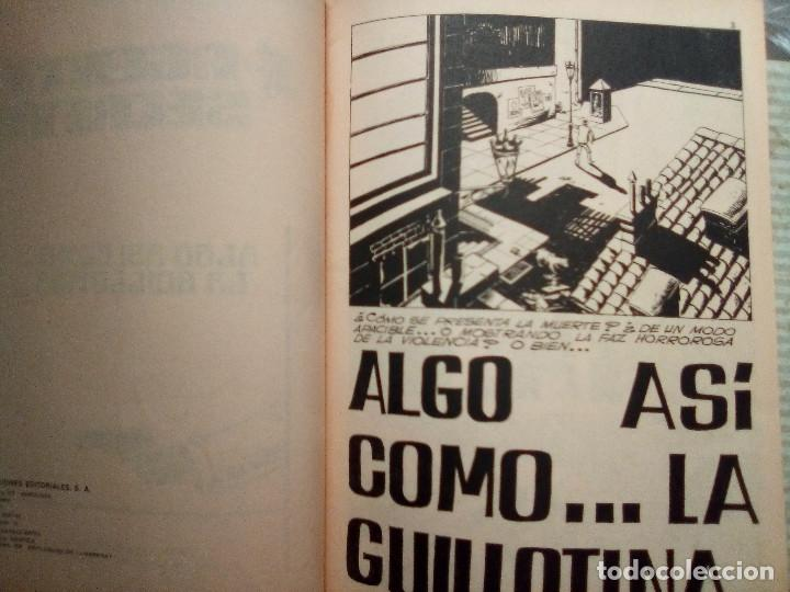 Tebeos: AGENTE SECRETO- Nº 7 -ALGO ASÍ COMO... LA GUILLOTINA-1982 -SORPRENDENTE-BUENO-DIFÍCIL-LEAN-2571 - Foto 4 - 188699191