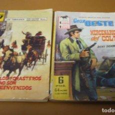 Tebeos: GRAN OESTE MERCENARIOS DEL COLT. Lote 189281091