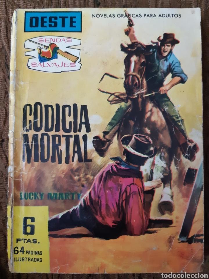 TEBEOS-CÓMICS CANDY - SENDAS SALVAJES OESTE 71 - FERMA 1962 - AA98 (Tebeos y Comics - Ferma - Otros)