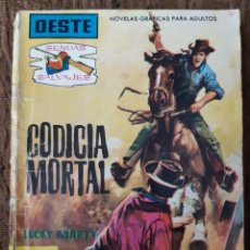 Tebeos: TEBEOS-CÓMICS CANDY - SENDAS SALVAJES OESTE 71 - FERMA 1962 - AA98. Lote 189330638
