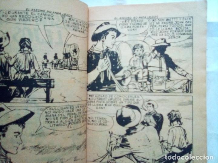 Tebeos: COLOSOS DEL OESTE- Nº 89 -EL ASESINO NO ANDA LEJOS-1966-GRAN LÓPEZ ESPÍ-MUY DIFÍCIL- LEAN-2632 - Foto 4 - 189448680