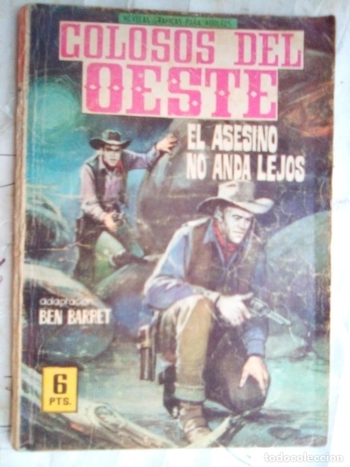 COLOSOS DEL OESTE- Nº 89 -EL ASESINO NO ANDA LEJOS-1966-GRAN LÓPEZ ESPÍ-MUY DIFÍCIL- LEAN-2632 (Tebeos y Comics - Ferma - Colosos de Oeste)