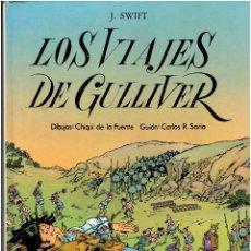 Giornalini: * LOS VIAJES DE GULLIVER * ED. LAROUSSE 1985 * MARAVILLAS DE LA LITERATURA Nº 11 *. Lote 190095515