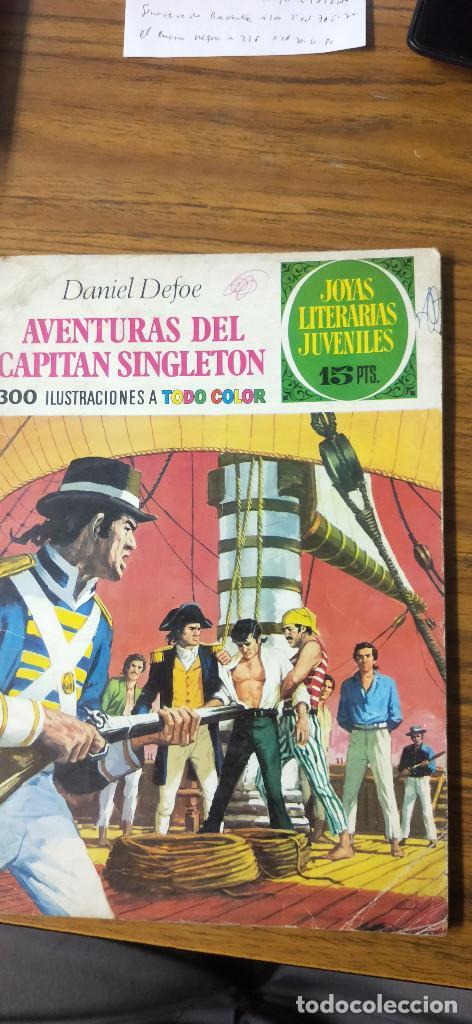 AVENTURAS DEL CAPITÁN SINGLETON (Tebeos y Comics - Ferma - Aventuras Ilustradas)