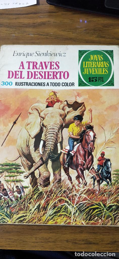 A TRAVÉS DEL DESIERTO (Tebeos y Comics - Ferma - Aventuras Ilustradas)