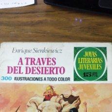 Tebeos: A TRAVÉS DEL DESIERTO. Lote 190364877