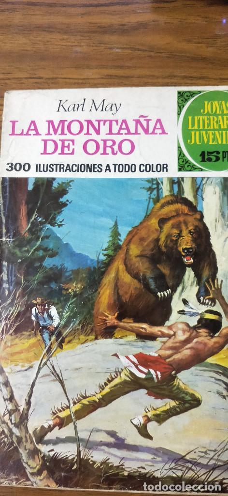 LA MONTAÑA DE ORO (Tebeos y Comics - Ferma - Aventuras Ilustradas)