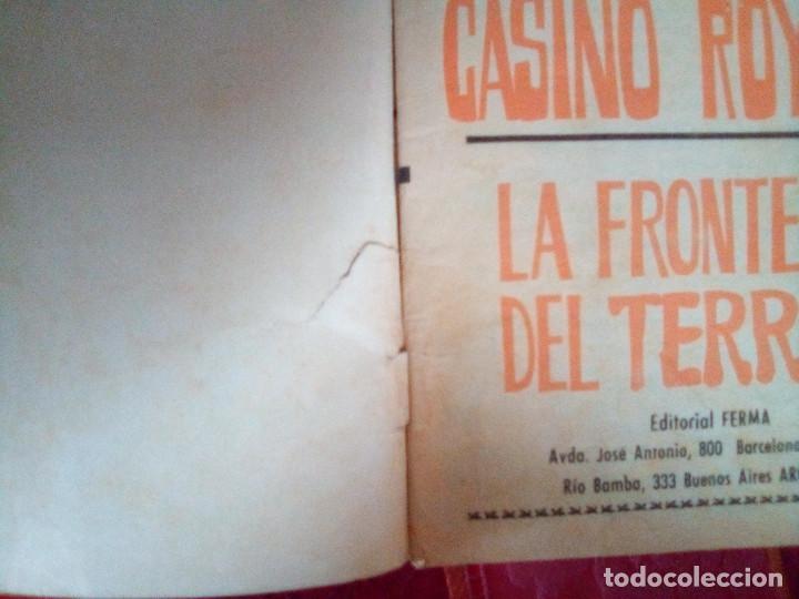 Tebeos: AGENTE 007 JAMES BOND- Nº 22 -CON DAN FLAGG-LA FRONTERA DEL TERROR-1966-CORRECTO-DIFÍCIL-LEAN-2892 - Foto 4 - 190611206