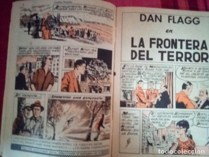 Tebeos: AGENTE 007 JAMES BOND- Nº 22 -CON DAN FLAGG-LA FRONTERA DEL TERROR-1966-CORRECTO-DIFÍCIL-LEAN-2892 - Foto 6 - 190611206