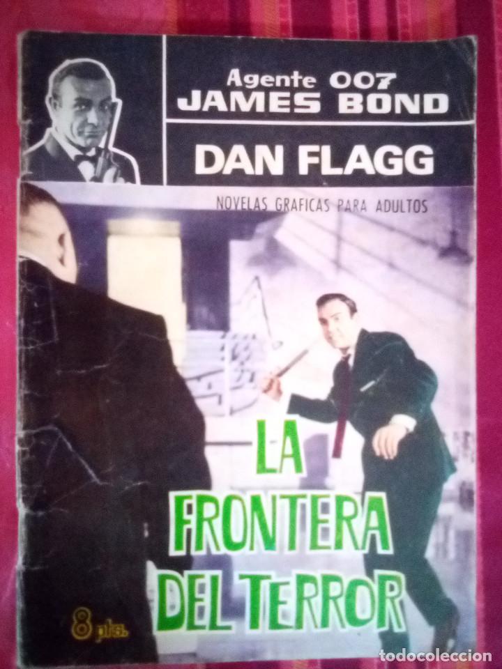 AGENTE 007 JAMES BOND- Nº 22 -CON DAN FLAGG-LA FRONTERA DEL TERROR-1966-CORRECTO-DIFÍCIL-LEAN-2892 (Tebeos y Comics - Ferma - Agente Secreto)