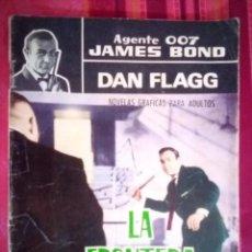 Tebeos: AGENTE 007 JAMES BOND- Nº 22 -CON DAN FLAGG-LA FRONTERA DEL TERROR-1966-CORRECTO-DIFÍCIL-LEAN-2892. Lote 190611206
