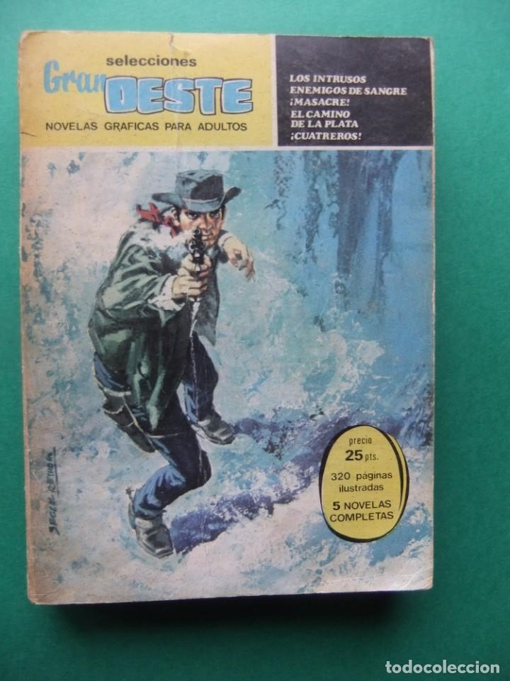 SELECCIONES GRAN OESTE Nº 2 CON 320 PAGINAS EDITORIAL FERMA 1962 (Tebeos y Comics - Ferma - Gran Oeste)